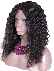 Glueless Silk Top Full Lace Wigs Brazilian Virgin Hair Silk Base Wig With Natural Hairline and Baby Hair Curly Wig