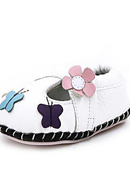 Mädchen-Loafers & Slip-Ons-Lässig-PUKomfort-Weiß