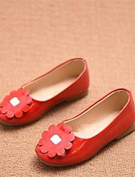 Mädchen-Loafers & Slip-Ons-Lässig-PUKomfort-Schwarz Rot Weiß