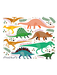 Wall Stickers Wall Decals Style Small Dinosaur World PVC Wall Stickers