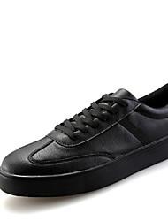 Men's Sneakers Winter Leatherette Casual White Black