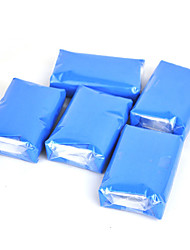 Magic Clay Bar for Car and Truck Auto Detailing Cleaner Car Washer Bug and Tar Remover 150g Blue 5PCS