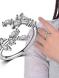Кольца Свадьба Для вечеринок Особые случаи Повседневные Бижутерия Сплав Цирконий Кольца на вторую фалангу Классические кольца Кольцо 1шт,