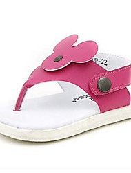 Girl's Sandals Comfort PU Casual Red White