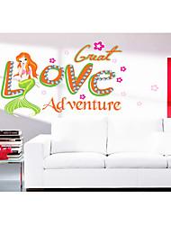 LOVE Mermaid Sitting Room The Bedroom Wall