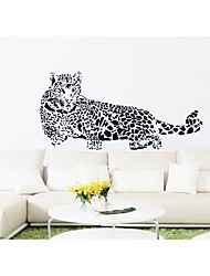 Animal Fashion Leisure Wall Stickers Plane Wall Decorative Wall Stickers Household Adornment Wall Stick Cheetah