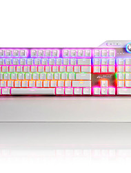 Mechanical keyboard / Gaming keyboard USB Black axis Multi color backlit Ajiazz Ajazz
