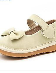 Mädchen-Loafers & Slip-Ons-Lässig-PUKomfort-Schwarz Rot Beige