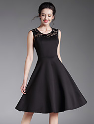 Maxlindy Women's Going out Casual/Daily Party Vintage Swing Little Black Dress