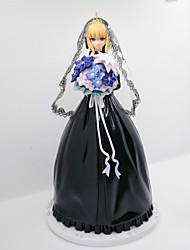 Anime Action-Figuren Inspiriert von Fate/stay night Saber Lily PVC 25 CM Modell Spielzeug Puppe Spielzeug