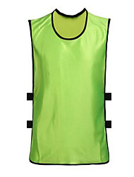 Unisex Soccer Tops Breathable Comfortable Summer Solid Terylene Football/Soccer Green Blue