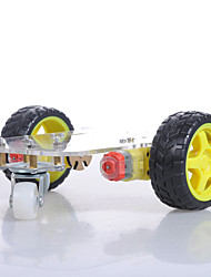 Crab Kingdom Model Assemble Trolley Set Handmade TT Motor  Caster  Car Chassis Set