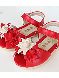 Girl's Sandals Comfort Leather Outdoor Casual Athletic Pink Red Running