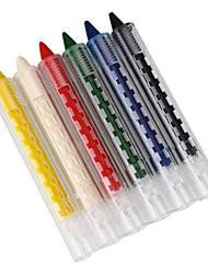 Gloss coloré Longue Durée Naturel Yeux Visage Caisse cou Pied Autres Crayons Noir Bleu Vert Rouge Jaune Blanc