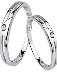Ringe Ohne Stein Party Alltag Schmuck Sterling Silber Damen Herren Paar Ring 1 Stück,8 9 10 11 12 13 14 15 16.0 17 18 19 Silber