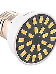 YWXLight® High Bright 5W E26/E27 LED Spotlight 24 SMD 5733 400-500 lm Warm White Cool White (AC 110V/ AC 220V)