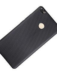 Per Resistente agli urti Custodia Custodia posteriore Custodia Tinta unita Morbido Fibra di carbonio per XiaomiXiaomi Mi Max Xiaomi Redmi
