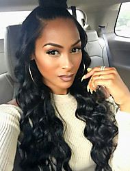 100% Brazilian Human Hair Wave Full Lace Wigs For Blank Woman Full Lace Human Hair Wigs with Baby Hair