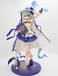 Anime Action Figures Inspired by Vocaloid Snow Miku PVC 27 CM Model Toys Doll Toy