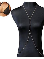 Bijoux de Corps/Chaîne de Corps Alliage Autres Original Mode Doré 1pc