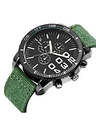 Men's Women's Unisex Sport Watch Fashion Watch Wrist watch Quartz Fabric Band Vintage Casual Multi-Colored