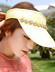 Spring And Summer Fashion Chain Box Millinery Hat Sun Visor Cap
