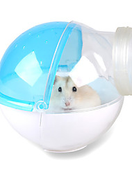 Rodents Cages Hamster Bath Room Waterproof Plastic Green Blue Pink