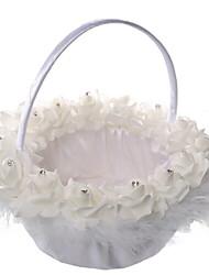 mariage panier de fleurs