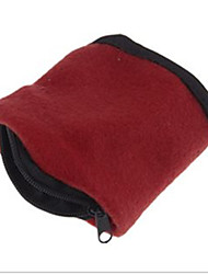 Travel Luggage Organizer / Packing Organizer Travel Storage Cotton Wrist Wallet Pouch Band Fleece Zipper Running Travel Gym Cycling Safe Sport