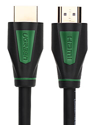 Ugreen® HDMI cable HDMI to HDMI cable 3M 4K HDMI cable 1.4 1080P 3D for PS3 projector HD LCD Apple TV computer cable