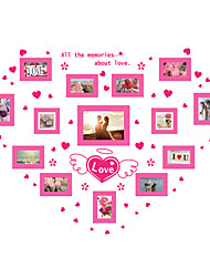 Romance Mode Forme Stickers muraux Autocollants avion Autocollants muraux décoratifs Autocollants photo,Vinyle MatérielDécoration