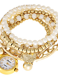 JUBAOLI Fashion Watch / Quartz Jade Band Casual White