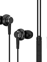 uiisii GT900 universels 3.5mm casque de métal dans l'oreille des écouteurs super bass avec auriculares microphone pour ios android