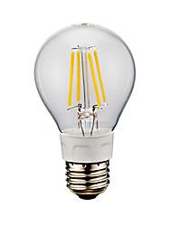 4W E26 LED лампы накаливания A60(A19) 4 COB 400/500 lm Тёплый белый Холодный белый AC 110-130 V 1 шт.