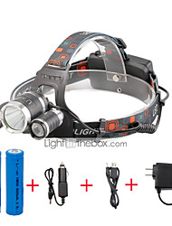 U'King Headlamps LED 4000 Lumens 4 Mode Cree XP-G R5 Cree XM-L T6 Yes Compact Size Easy Carrying for Camping/Hiking/Caving Everyday Use