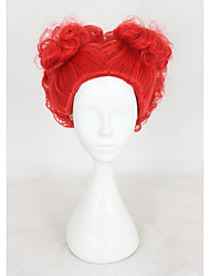 Short Red Red Queen Synthetic 12inch Anime Cosplay Wigs CS-318A