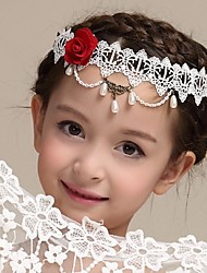 Girl's Lace Headpiece-Wedding Special Occasion Outdoor Headbands 1 Piece