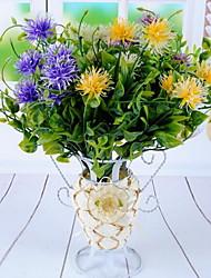 1 Ast Kunststoff andere Tisch-Blumen Künstliche Blumen 24*24*24