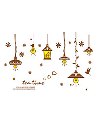 Wall Stickers Wall Decals Style Chandelier Lamp PVC Wall Stickers