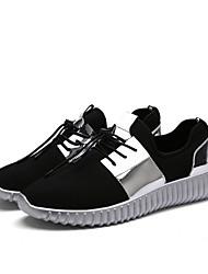 Unisex-Sneakers-Tempo libero Casual-Comoda Suole leggere pattini delle coppie-Piatto-Tulle