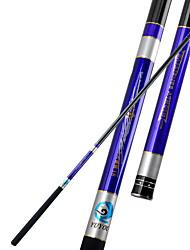 Fishing Rod Telespin Rod Carbon steel 450 M General Fishing Rod Blue