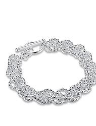 Bracelet Chaînes & Bracelets Charmes pour Bracelets Bracelets de rive Cuivre Plaqué argentNaturel Amitié Mode Vintage Bohême Style Punk