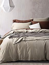 Turqua high thread count 100% algodão egípcio sólido estilo moderno edredão capa edredom capa de edredão de alta qualidade