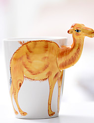 3D Animal Series Drinkware, 400 ml Decoration Gift Ceramic Milk Water Coffee Mug