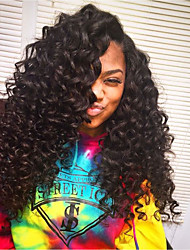 Natural Soft Wet And Wavy Loose Water Wave Pre Plucked Kinky Curly Virgin Human Hair Afro Full Lace Human Hair Bob Wigs With Baby Hair for Black Women