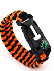 Survival Bracelet Hiking Camping Travel Outdoor Multi Function Nylon