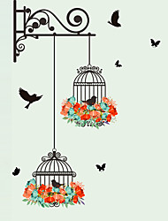 Wall Stickers Wall Decals Style Birdcage PVC Wall Stickers