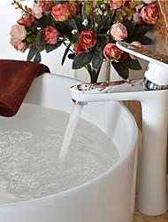 Faucet Bathroom Bathroom Tap Vessel Sink Fauce Centerset Thermostatic Rain Shower Valve Single Handle One Hole for  Chrome Bathroom Sink Faucet