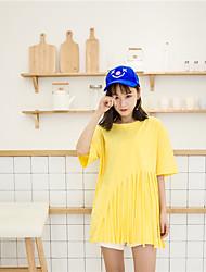 знак гипотенузы корейских студентов незакрепленные нерегулярные бахромой кисточкой футболку женщин сшивки дикий