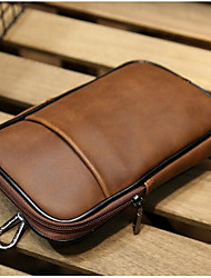 Men PU Casual Waist Bag
